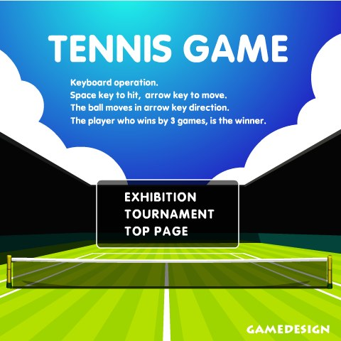 Онлайн игра большой теннис